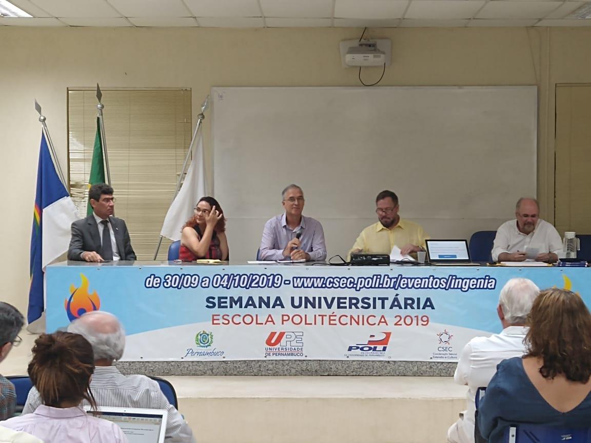 Semana Universitária 2019 -Curricularização da Extensão nos cursos de Engenharia - POLI