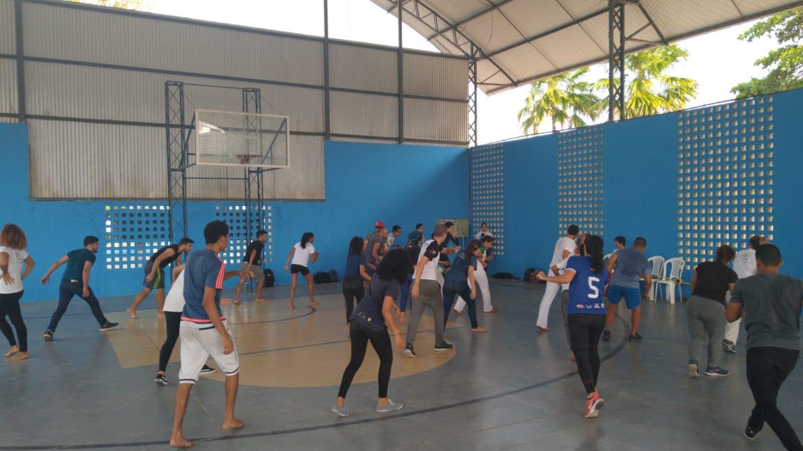 Semana Universitária 2019 - Dança popular - ESEF
