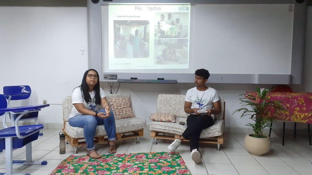Semana Universitária 2019 - Mircas Educação ambiental ICB