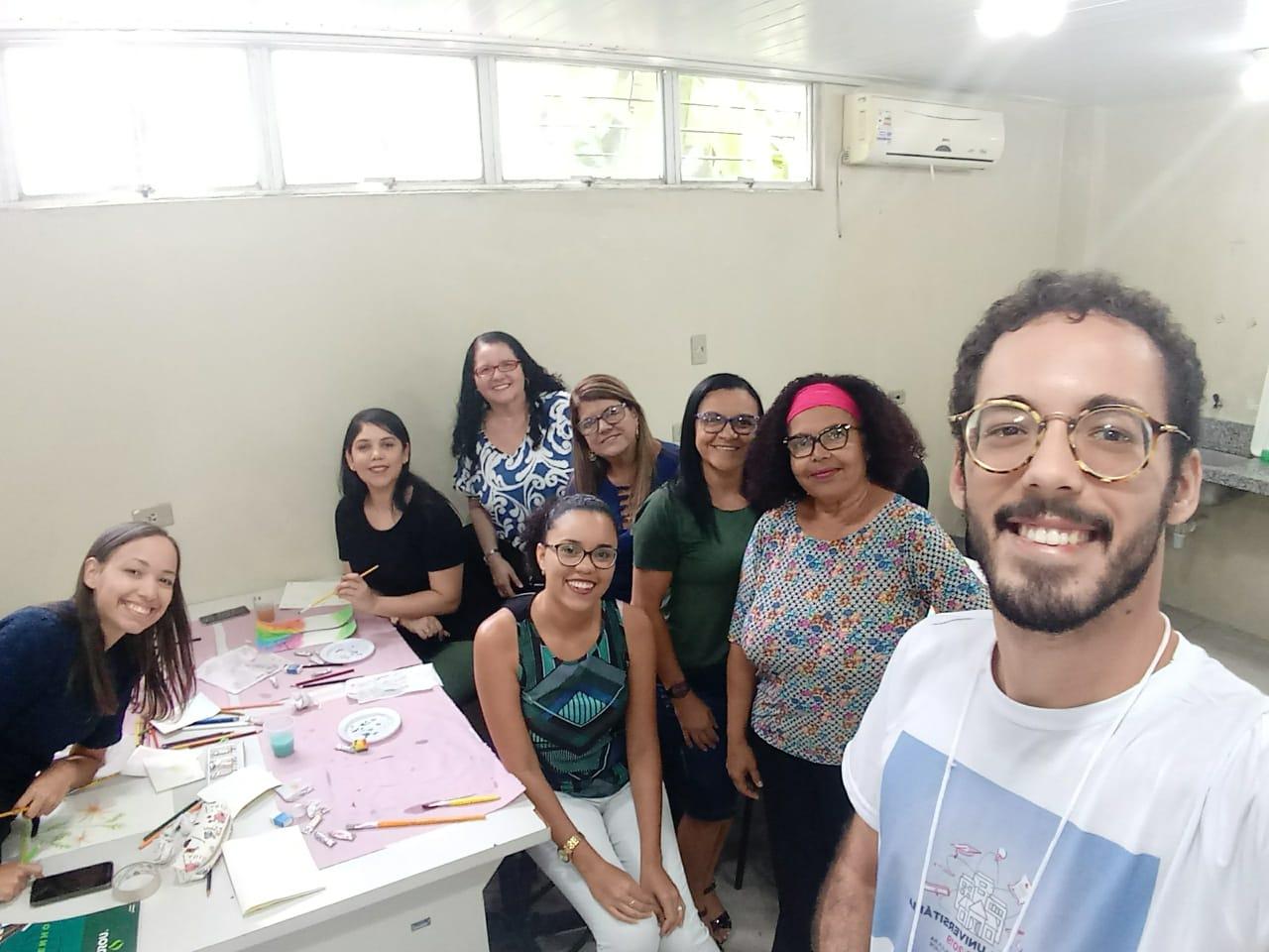 Semana Universitária 2019 - Oficina Pintura para servidores - ICB