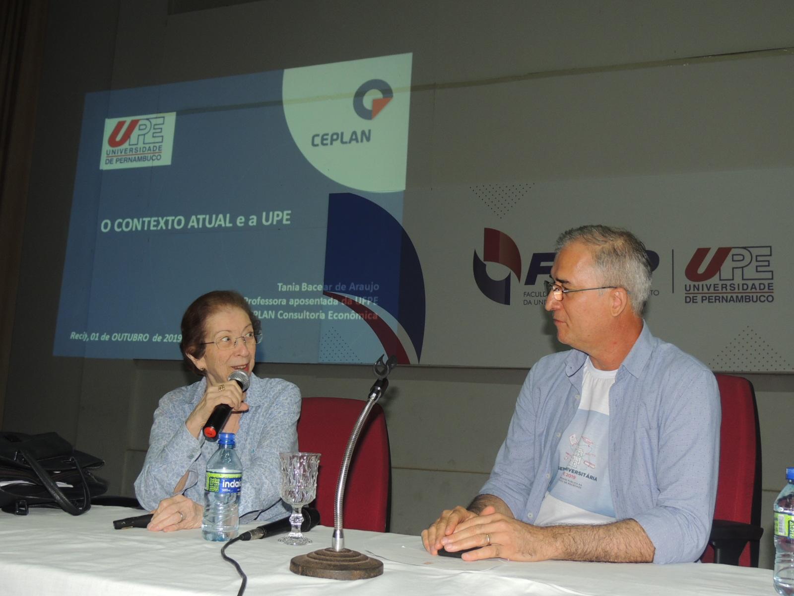 Semana Universitária 2019 - Solenidade de Abertura com a Economista Tânia Bacelar