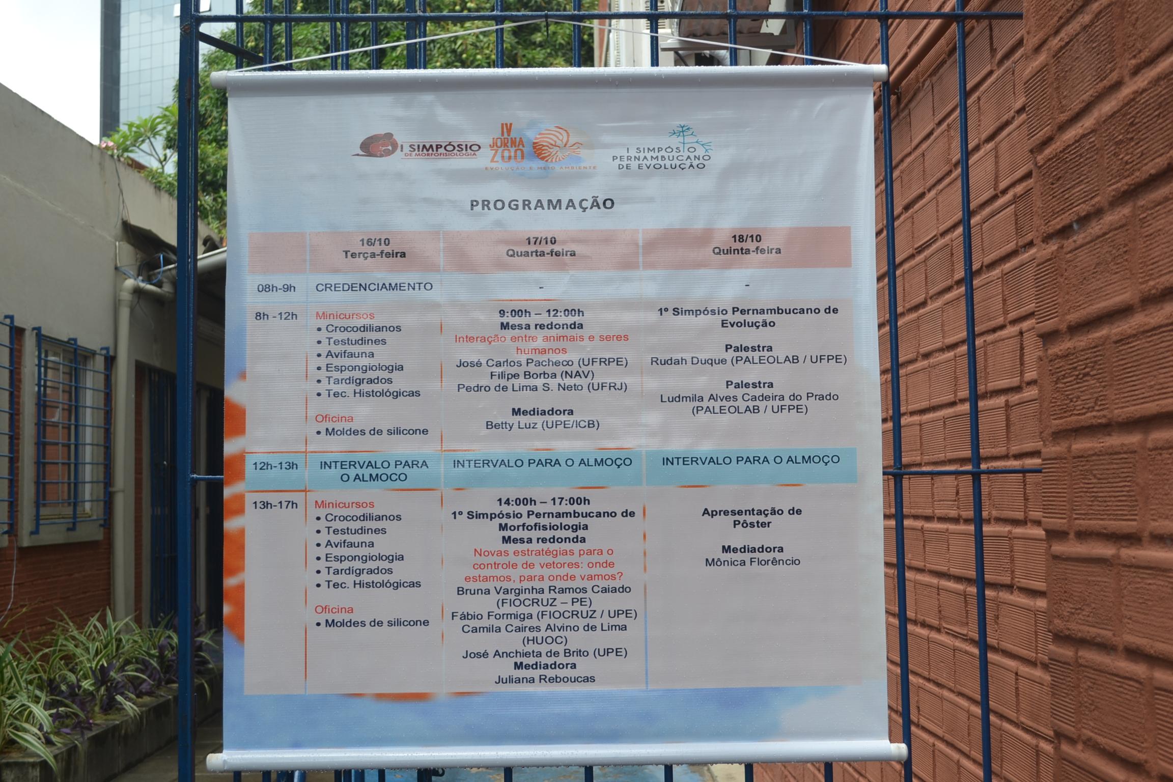 Semana Universitária ICB - Jornada de Zoologia